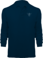 Polo Goldorak Monochrome Manches Longues – Navy