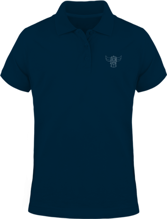 Polo Goldorak Monochrome – Navy – Plexus