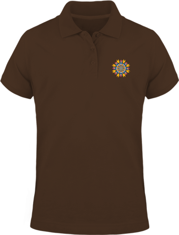 Polo Mandala Goldorak – Chocolate – Plexus