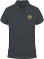 Polo Mandala Goldorak – Dark Grey