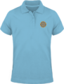 Polo Mandala Goldorak – Sky Blue
