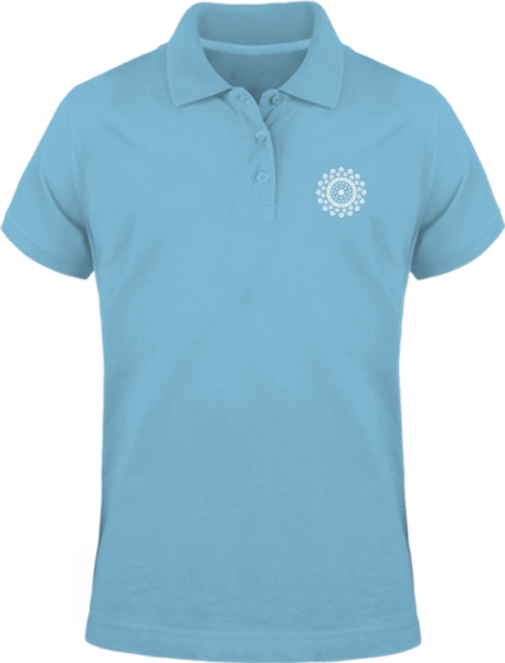 Polo Mandala – Sky Blue