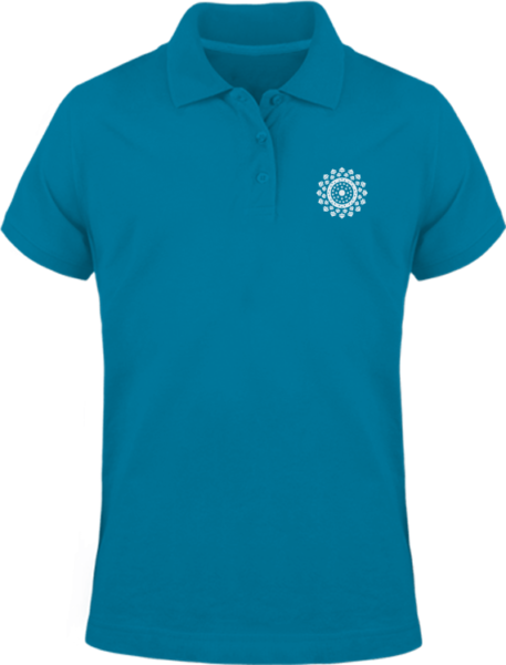 Polo Mandala – Tropical Blue