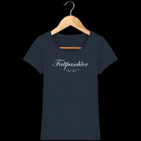 T-Shirt Femme Faitpaschier French Navy