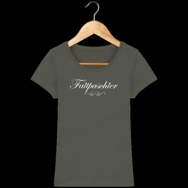 T-Shirt Femme Faitpaschier Khaki