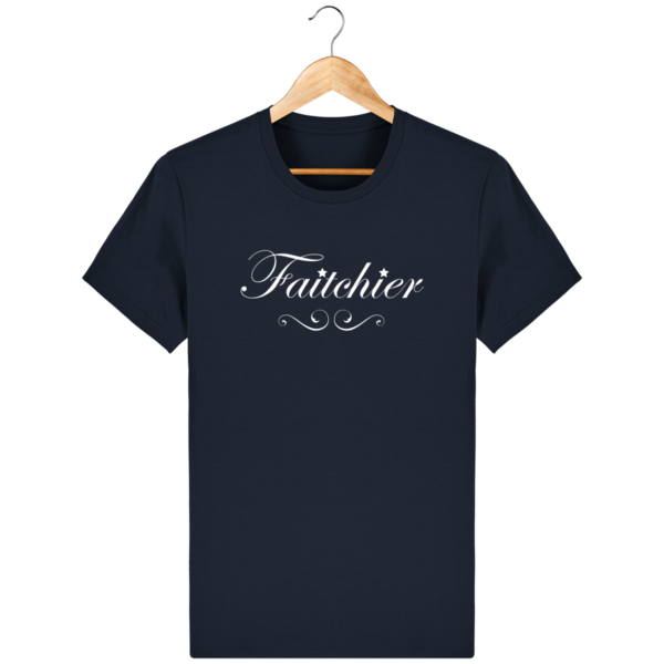 T-shirt Faitchier French Navy Face 1