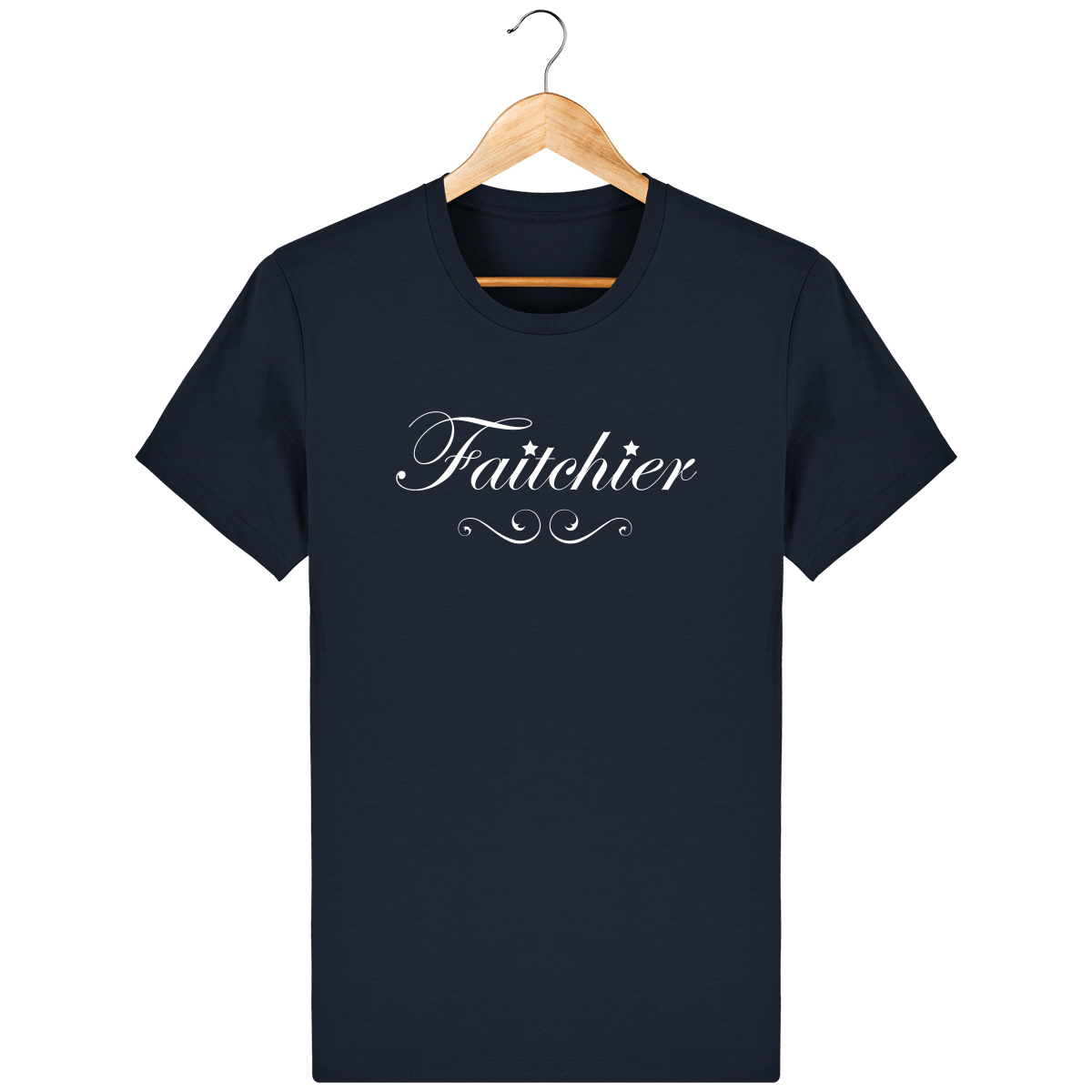 T-shirt Faitchier – French Navy – Face