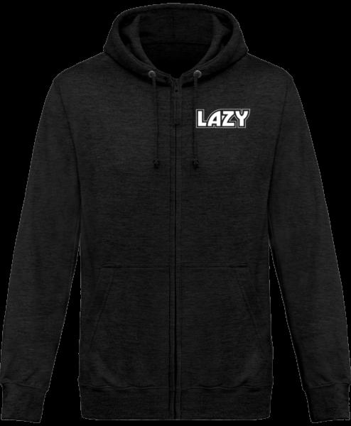 Veste Zippé Capuche Lazy – Charcoal – Face