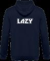 Veste Zippé Capuche Lazy – New French Navy – Dos