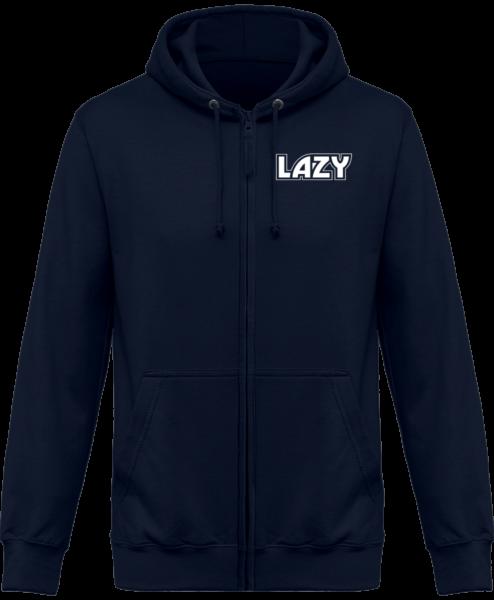 Veste Zippé Capuche Lazy – New French Navy – Face