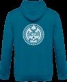 Veste Zippé Capuche Tribal Mask – Sapphire Blue – Dos