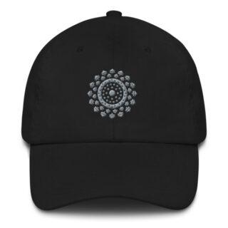 Casquette Mandala noir