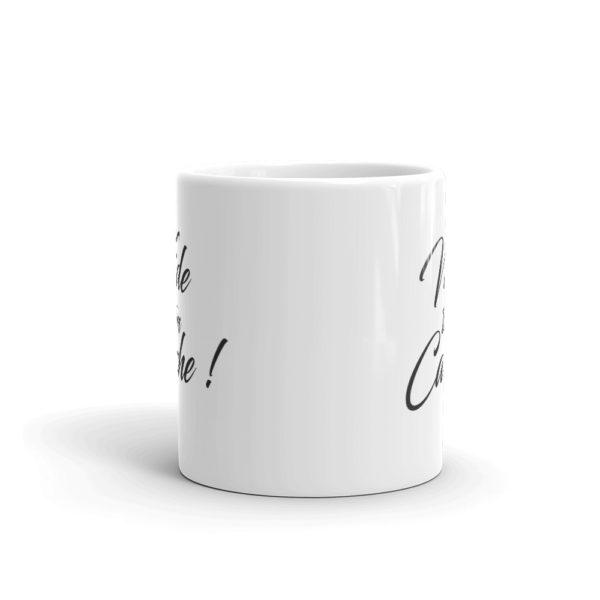 Mug Vide ton cache Face avant