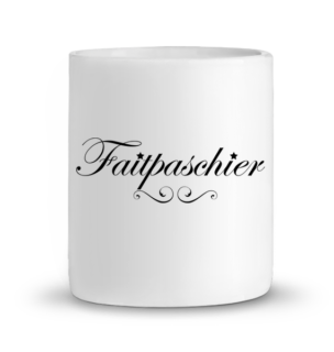 Mug en Céramique Faitpaschier – BLANC – Face