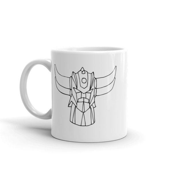 Mug Goldorak Noir cote