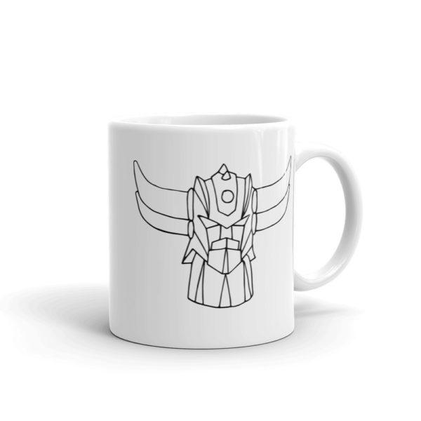Mug Goldorak Noir cote2