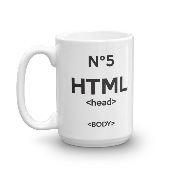 Mug haut HTML5 cote