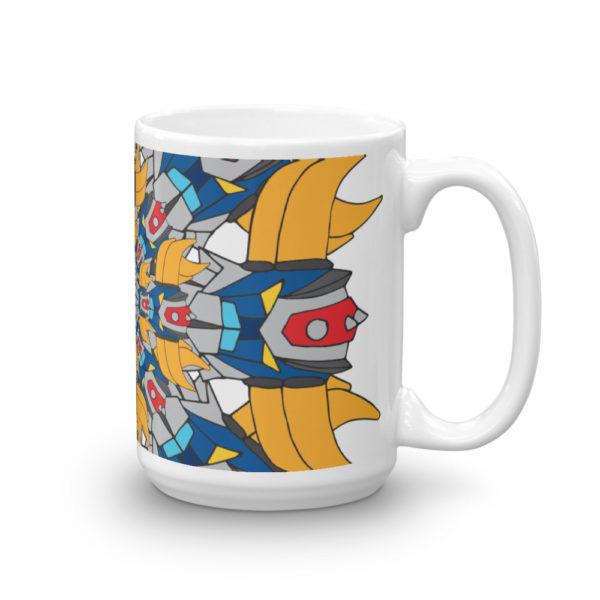 Mug haut Mandala Goldorak cote2