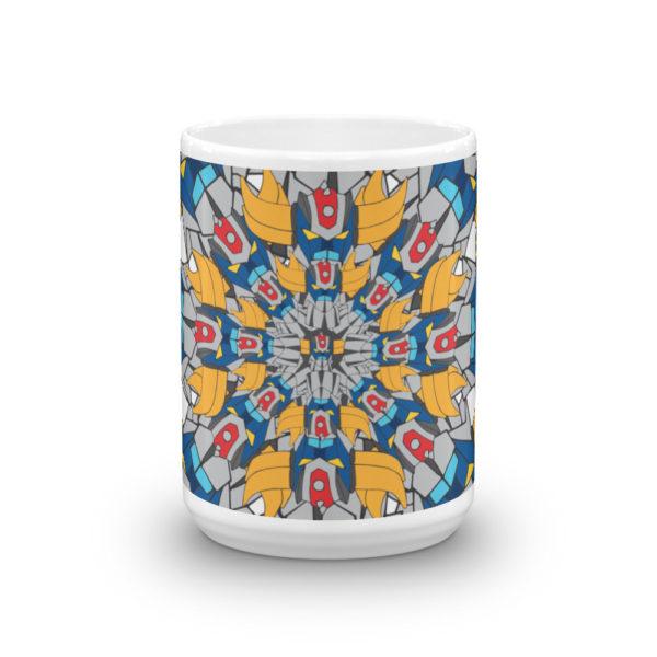 Mug haut Mandala Goldorak face avant