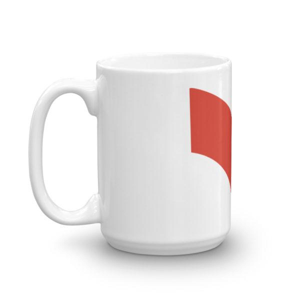 Mug haut Retrolaser cote