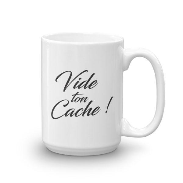 Mug haut Vide ton cache cote2