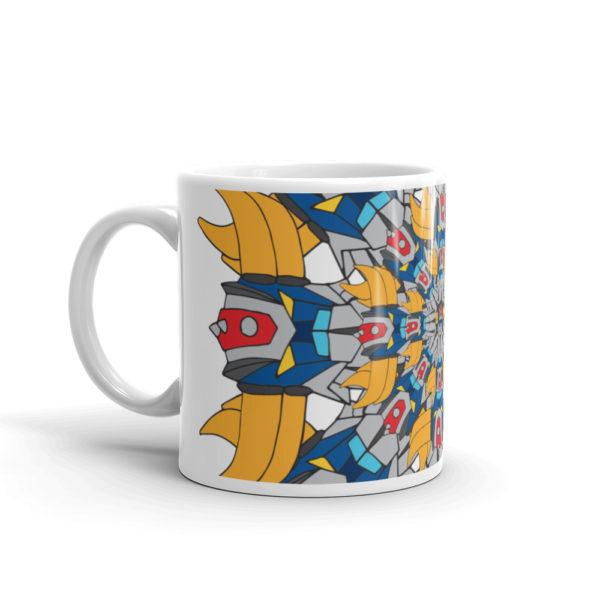 Mug Mandala Goldorak cote