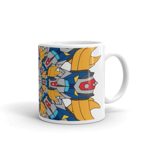 Mug Mandala Goldorak cote2