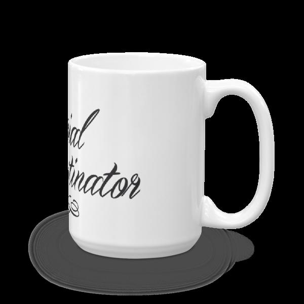 Mug Serial Procratinator haut cote 2
