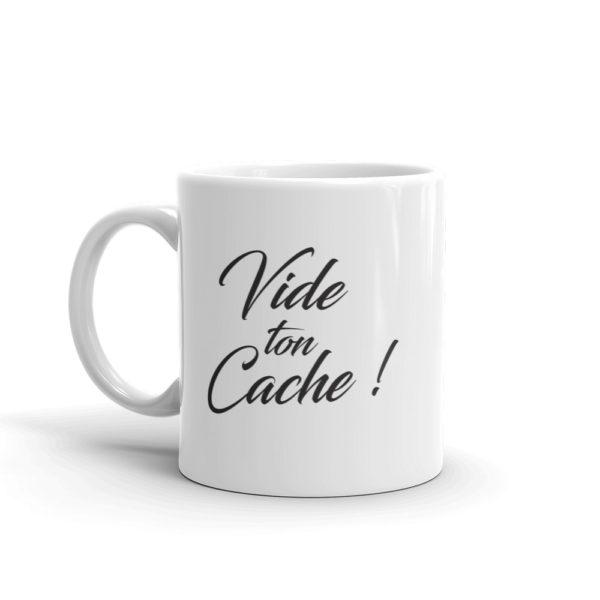 Mug Vide ton cache cote