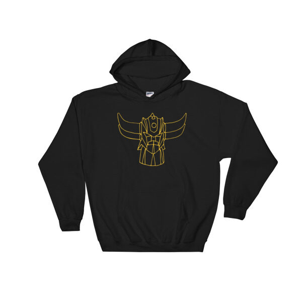 Sweat capuche Goldo noir