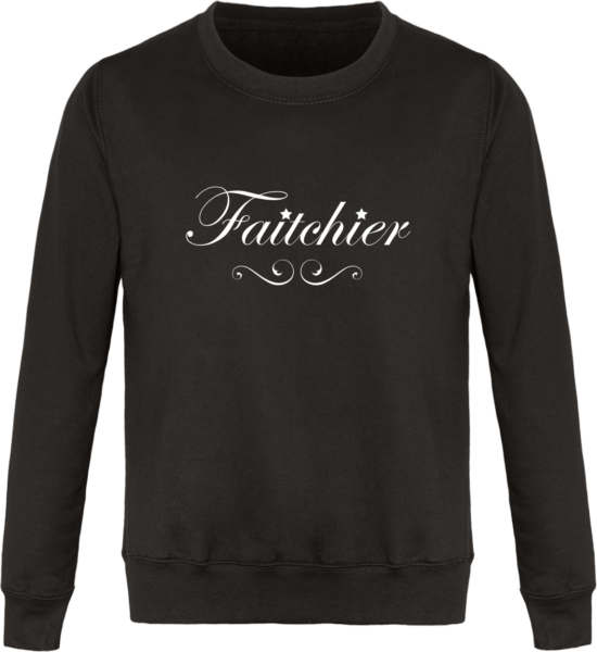 Sweat Col Rond Unisexe Faitchier Storm Grey