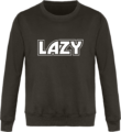 Sweat Col Rond Unisexe LAZY Steel Grey
