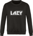 Sweat Col Rond Unisexe LAZY Storm Grey