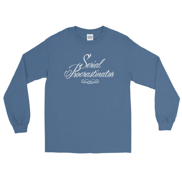 Sweat Serial Procratinator bleu clair