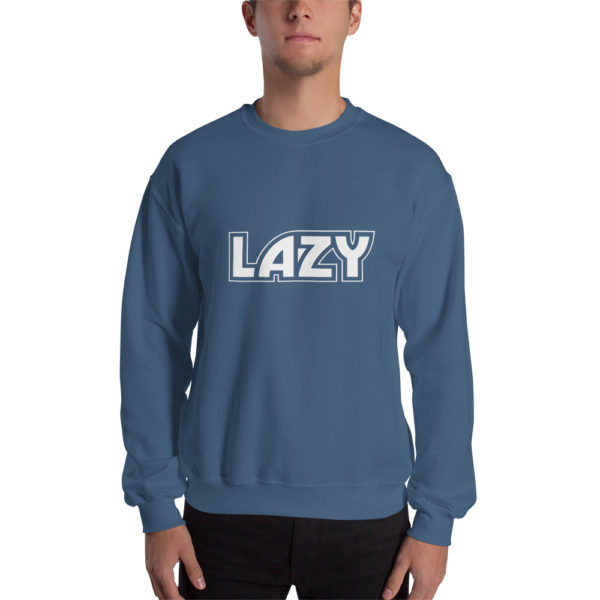 Sweatshirt LAZY Bleu clair