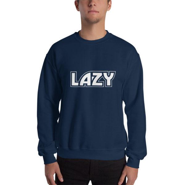 Sweatshirt LAZY Bleu Marine