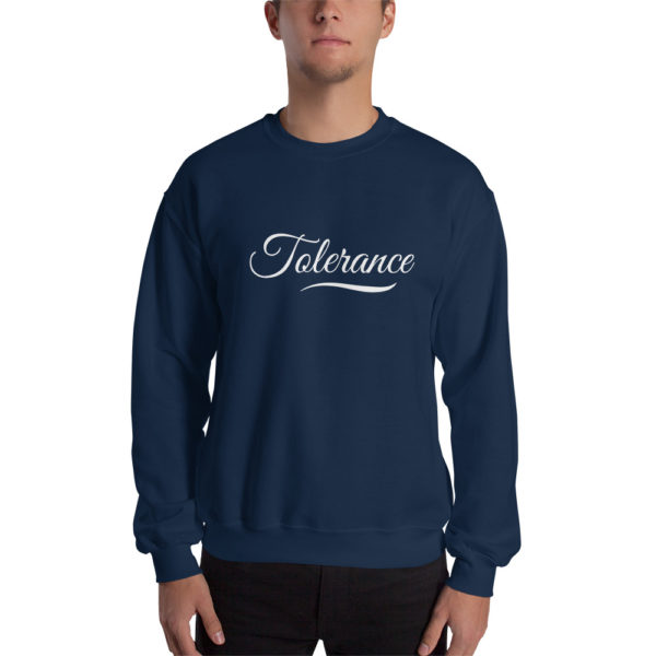 Sweatshirt Tolerance Bleu Marine