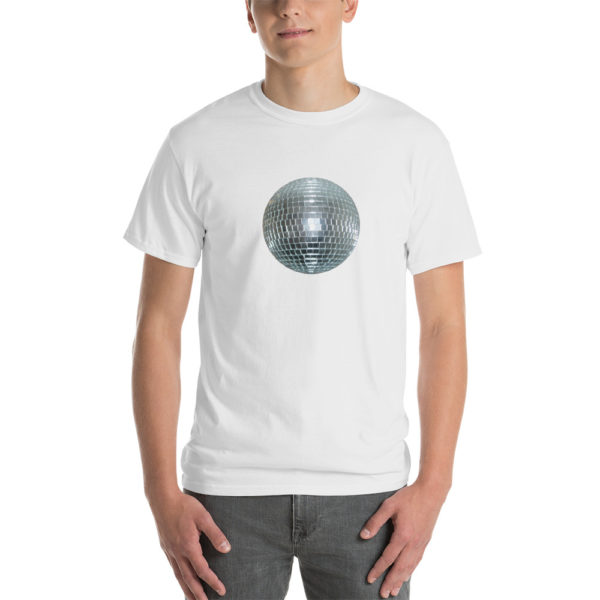 T-shirts originaux Disco Ball Blanc