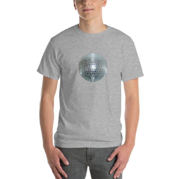 T-shirts originaux Disco Ball Gris