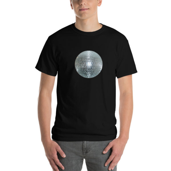 T-Shirt Disco Ball Noir