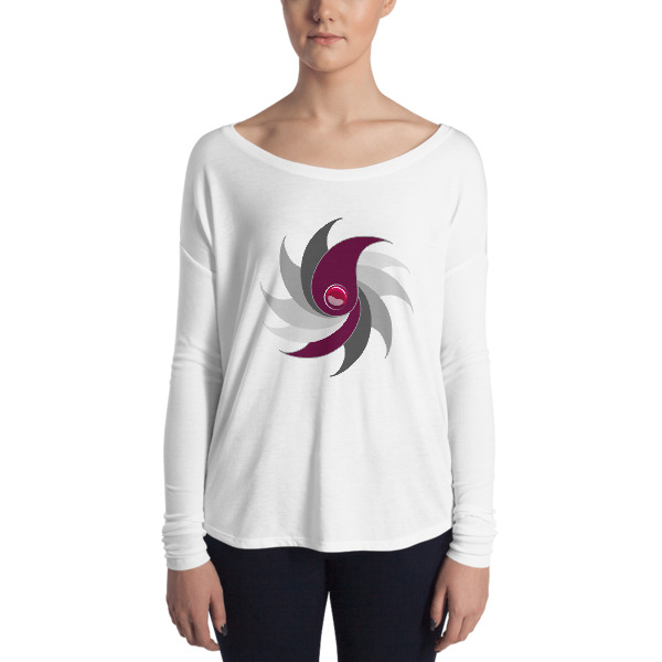 T-shirt Femme Purple Drop