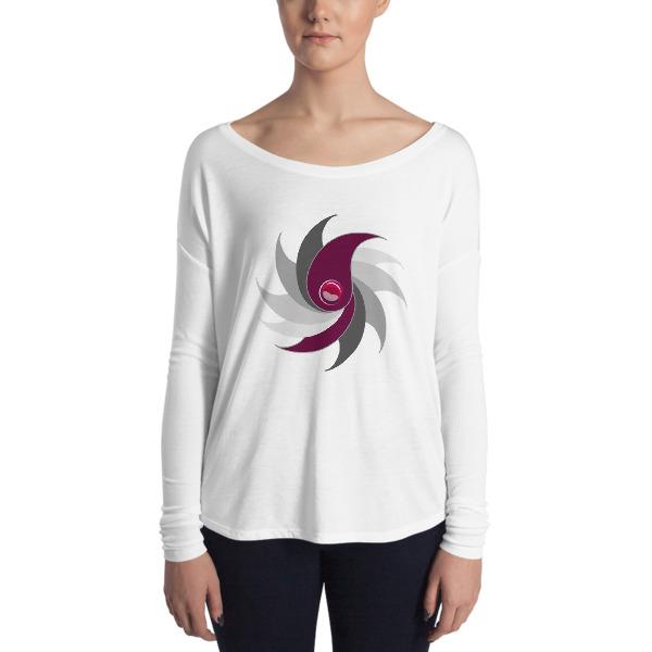 T-shirt Femme Purple Drop