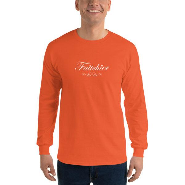 T-shirts originaux Manches longues Faitchier Orange