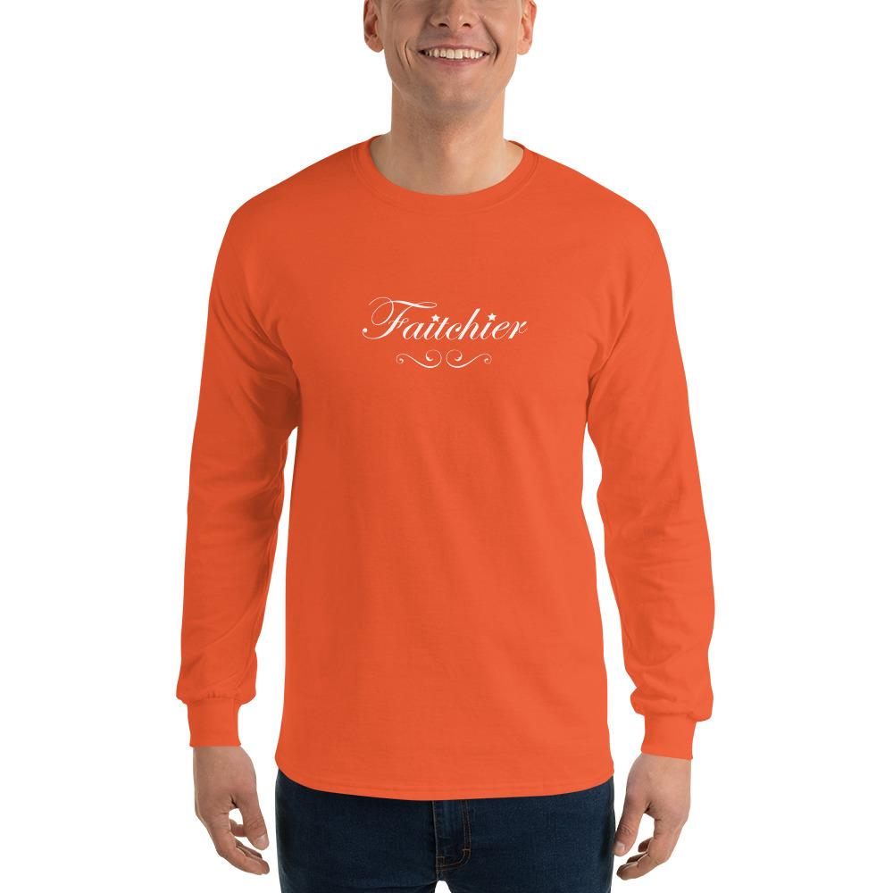tee shirt faitchier manches longues t shirts originaux. Black Bedroom Furniture Sets. Home Design Ideas
