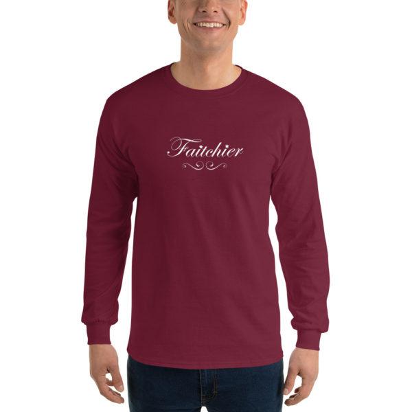 T-shirts originaux Manches longues Faitchier Prune