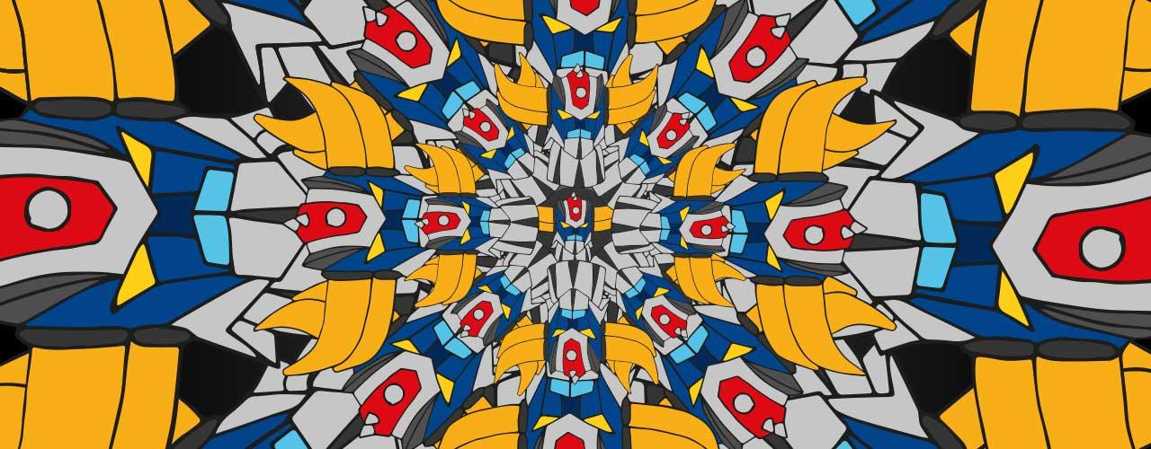 T-shirt Mandala Goldo abactashop